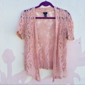 Rose Pink Rue21 Lace Blouse